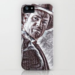 Justified - Timothy Olyphant iPhone Case