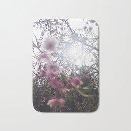 backlit sakura Bath Mat