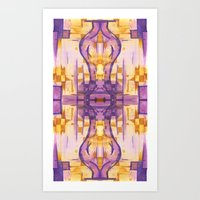 Art Print featuring Border 2 H Pattern 4 by Cie Ja