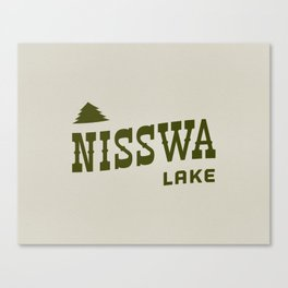 Nisswa Lake Canvas Print