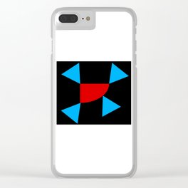 Surrounded 1 Clear iPhone Case