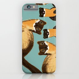 Yellow Martens iPhone Case