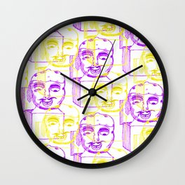 Jack in the Box 2 tone  Wall Clock