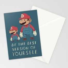 be the best version of yourself Stationery Cards