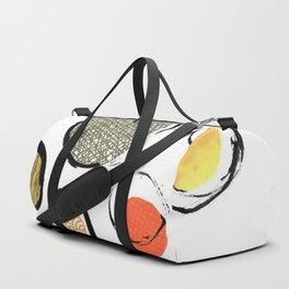 Ink Collage Duffle Bag