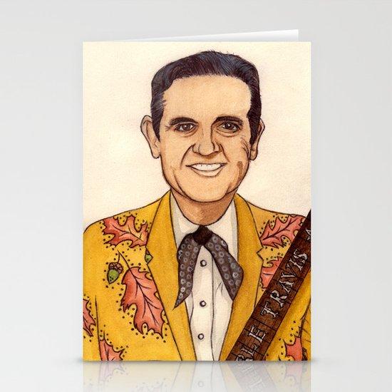 Merle Travis II Stationery Cards