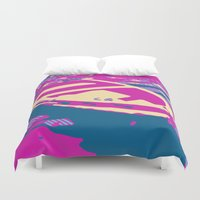 boat Duvet Covers featuring Boat by DistinctyDesign