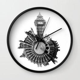 Around London City - World Wall Clock