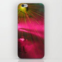 STRFCKR concert lasers iPhone Skin