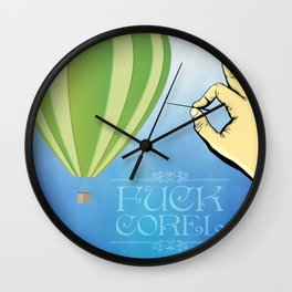 That's What I Think Wall Clock