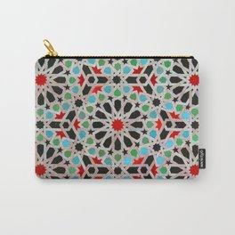 ARTERESTING V46 - Bohemian lifestyle, Traditional Moroccan Design Carry-All Pouch