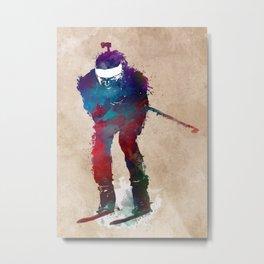 Biathlon sport art 2 #biathlon #sport Metal Print