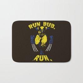 Run Bub. Run. Bath Mat