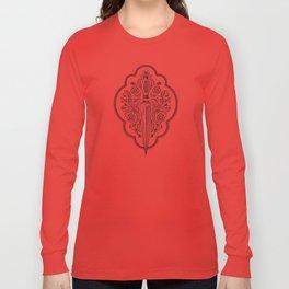 Ornamental Dagger Long Sleeve T-shirt