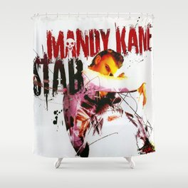 STAB SINGLE - COVER ARTWORK Shower Curtain