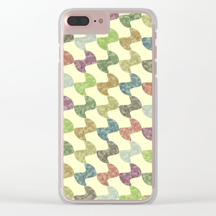 Pattern #27 Clear iPhone Case