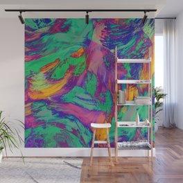 Rainbow negatives Wall Mural