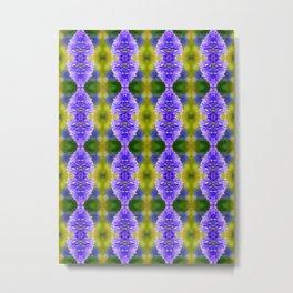 Agapanthus patterns Metal Print