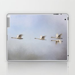 Three Up, One Down Laptop & iPad Skin