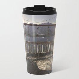 Swing on the lake Travel Mug