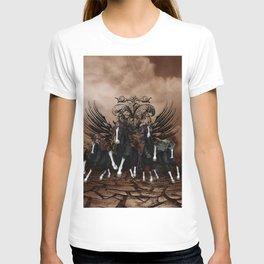 Awesome wild horses T-shirt
