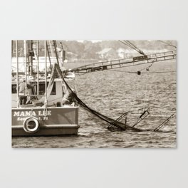 Shrimpers Canvas Print