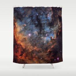 The Devil Nebula Shower Curtain