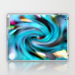 colourful sprial Laptop & iPad Skin
