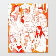 Dame Calor Canvas Print