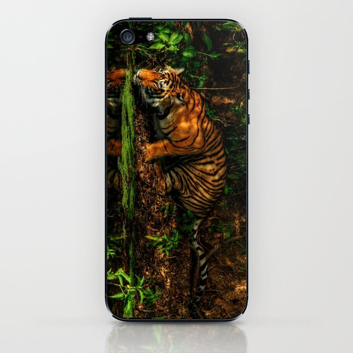 The Royal Bengal Tiger ( iPhone Skin by cosurvivor
