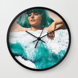 Waterbed Wall Clock