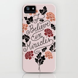 Fall Miracles iPhone Case