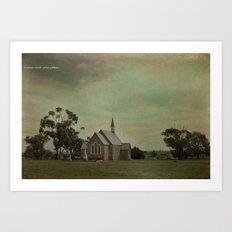 St Saviours Church Art Print