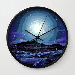 Yuusari Central Wall Clock