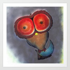 Night Owl #1 Art Print