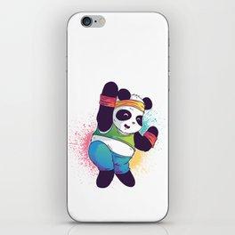 Fitness Panda iPhone Skin
