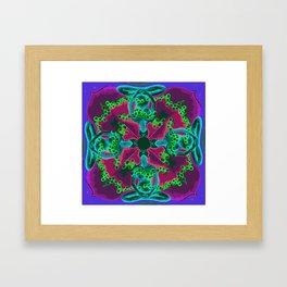 Conexion Framed Art Print