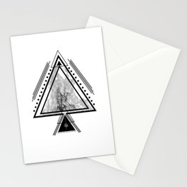 Wiccan Fire Element Symbol Pagan Witchcraft Triangle Stationery Cards