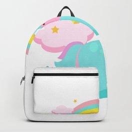 Funny Unicorn Girls Women Kids Backpack