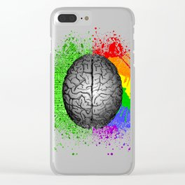 Conflict Within Clear iPhone Case