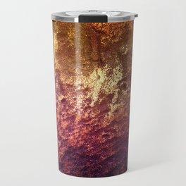 Gold Bedrock Travel Mug