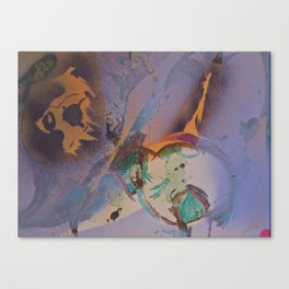 NOW  / Painted by Terrance Keenan Canvas Print