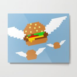 Food Flight Metal Print