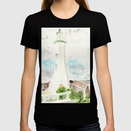 Morning at Scituate Lighthouse T-shirt