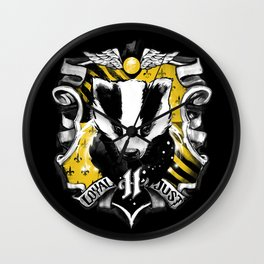 Hufflepuff Daddy Wall Clock