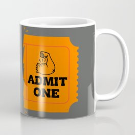 Ticket to the Gun Show Coffee Mug