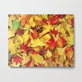 Falling for Autumn Metal Print