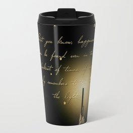 Happiness Can Be Found Travel Mug