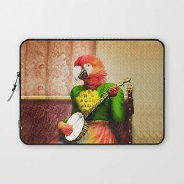 Banjo Birdy Plucks a Pretty Tune! Laptop Sleeve
