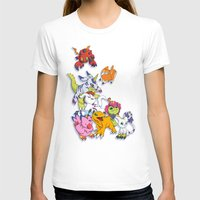 digimon T-shirts featuring Digimon Adventure Partners by Jelecy